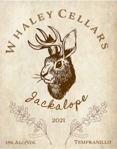 custom wine label with business name for small batch wine