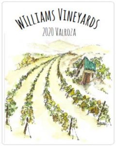 personalized custom wine label with family name for small batch wine