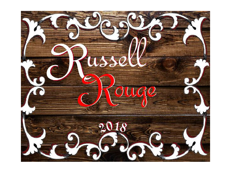 custom wine label rustic family name for small batch wine gift