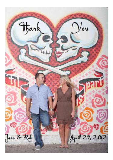 custom wine label for wedding thank-you small batch wine